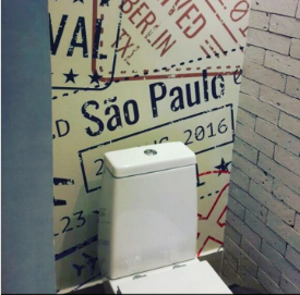 OS ENCANTOS DO LAVABO